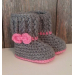New 40 Ideas Crochet Ugg