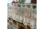 Attractive 50 Models Free Crochet Curtain Patterns