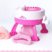 Gorgeous 41 Photos Loom Knitting Machine