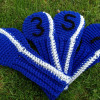 New 42 Images Crochet Golf Club Cover Pattern