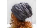 Lovely 42 Images Knit Slouchy Beanie