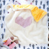 Adorable 45 Pictures Heart Baby Blanket