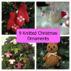 Incredible 50 Models Knitted Christmas ornaments