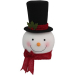 Adorable 46 Pictures Snowman Christmas Tree Decorations