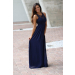 Incredible 43 Images Navy Crochet Dress