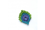 Great 44 Models Crochet Peacock Feather