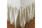 Gorgeous 41 Pics Crochet Bed Skirts