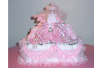 New 48 Pictures Baby Diaper Cake Ideas