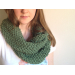 Wonderful 49 Photos Knit Infinity Scarf