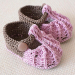 Attractive 40 Pics Knitted Baby Shoes