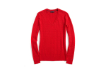 Great 44 Pictures V Neck Cable Knit Sweater