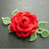 Contemporary 40 Pictures Free Crochet Leaf Pattern