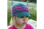 Contemporary 46 Photos Crochet Hat with Brim Pattern