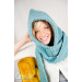 Wonderful 48 Images Crochet Hooded Scarf