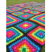 Great 40 Photos Rainbow Crochet Blanket