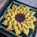 Delightful 32 Pics Sunflower Afghan