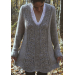 Amazing 48 Ideas Women's Knitted Vest Patterns