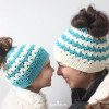 Perfect 44 Models Bun Hat Crochet Pattern