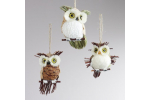 Delightful 49 Pics Owl Christmas Decorations