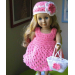 Adorable 50 Pictures Free Crochet Patterns for American Girl Dolls Clothes