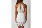 Top 45 Pics White Crochet Skirt