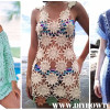 Adorable 47 Models Crochet Beach Cover Up Patterns