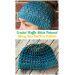 Amazing 42 Ideas Free Messy Bun Hat Pattern
