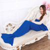 Great 41 Images Knitted Mermaid Blanket