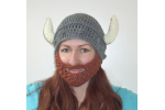 Charming 44 Models Crochet Beard Hat