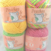 Brilliant 43 Pictures Peaches and Cream Cotton Yarn