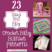 Fresh 47 Pictures Quick and Easy Crochet Patterns