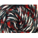 Lovely 45 Images Red and Black Yarn