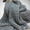 Wonderful 40 Photos Super Chunky Knit Blanket