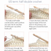Contemporary 47 Ideas Triple Crochet Stitch
