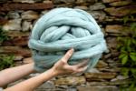 Contemporary 45 Images Best Yarn for Chunky Blanket