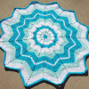 Wonderful 41 Models Round Crochet Blanket Pattern