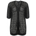 Fresh 47 Pics Black Crochet Cardigan