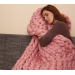 Adorable 43 Photos Chunky Knit Wool Blanket
