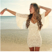 Amazing 44 Photos Crochet White Dress