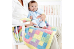 Gorgeous 42 Pics Hand Knitted Baby Blankets