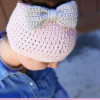 Delightful 40 Pictures Free Knitting Pattern for Messy Bun Hat