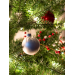Attractive 44 Images White Christmas ornaments