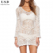 Unique 42 Pictures White Crochet Cover Up