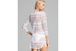 Unique 50 Models White Crochet Coverup
