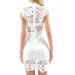 Awesome 48 Photos White Lace Crochet Dress