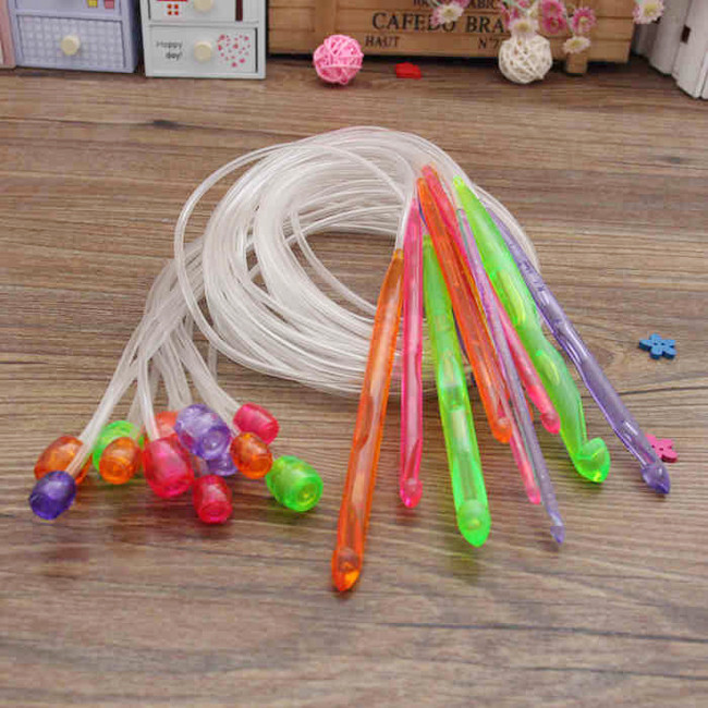 3.5 Mm Crochet Hook Best Of 12 Pcs 3 5 12mm Flexible Plastic Afghan Tunisian Crochet Of Attractive 40 Photos 3.5 Mm Crochet Hook