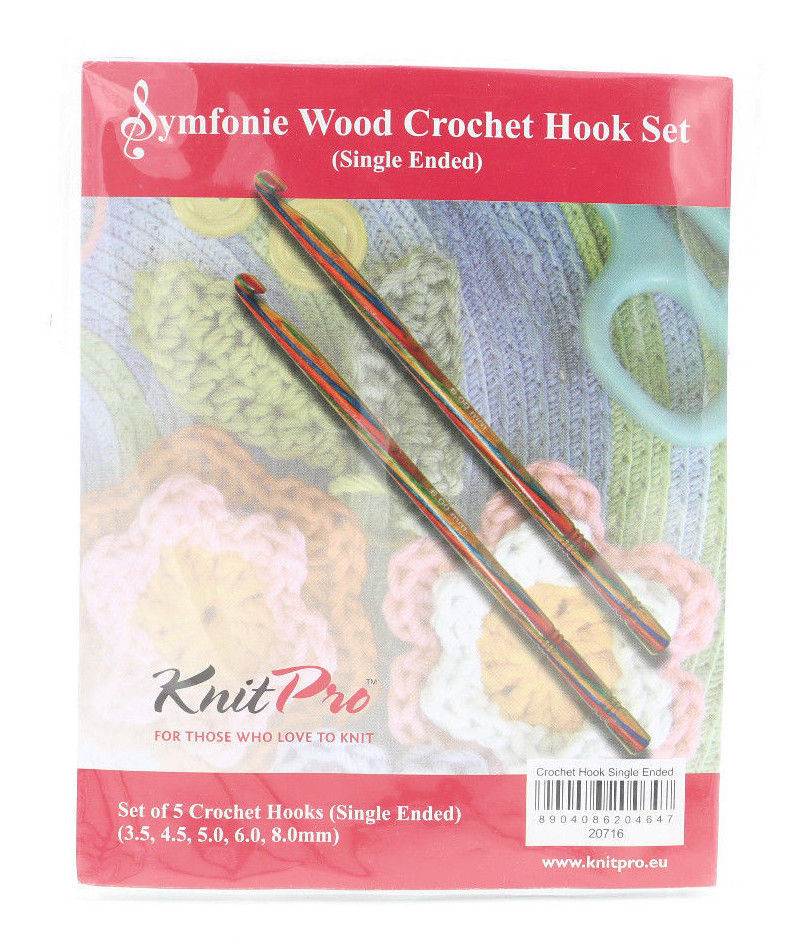 3.5 Mm Crochet Hook Best Of E Set Of Five Knitpro Symfonie Wood Crochet Hook Set Of Attractive 40 Photos 3.5 Mm Crochet Hook