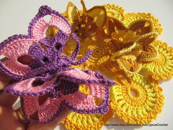 3d butterfly Crochet Pattern Luxury 17 Best Images About Crocheted butterflies All Crafted Of Amazing 44 Models 3d butterfly Crochet Pattern