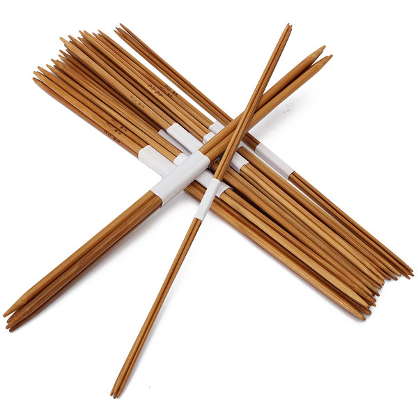 4.5 Mm Crochet Hook Unique 44pcs 11 Sizes Carbonized Bamboo Double Pointed Knitting Of Great 46 Images 4.5 Mm Crochet Hook