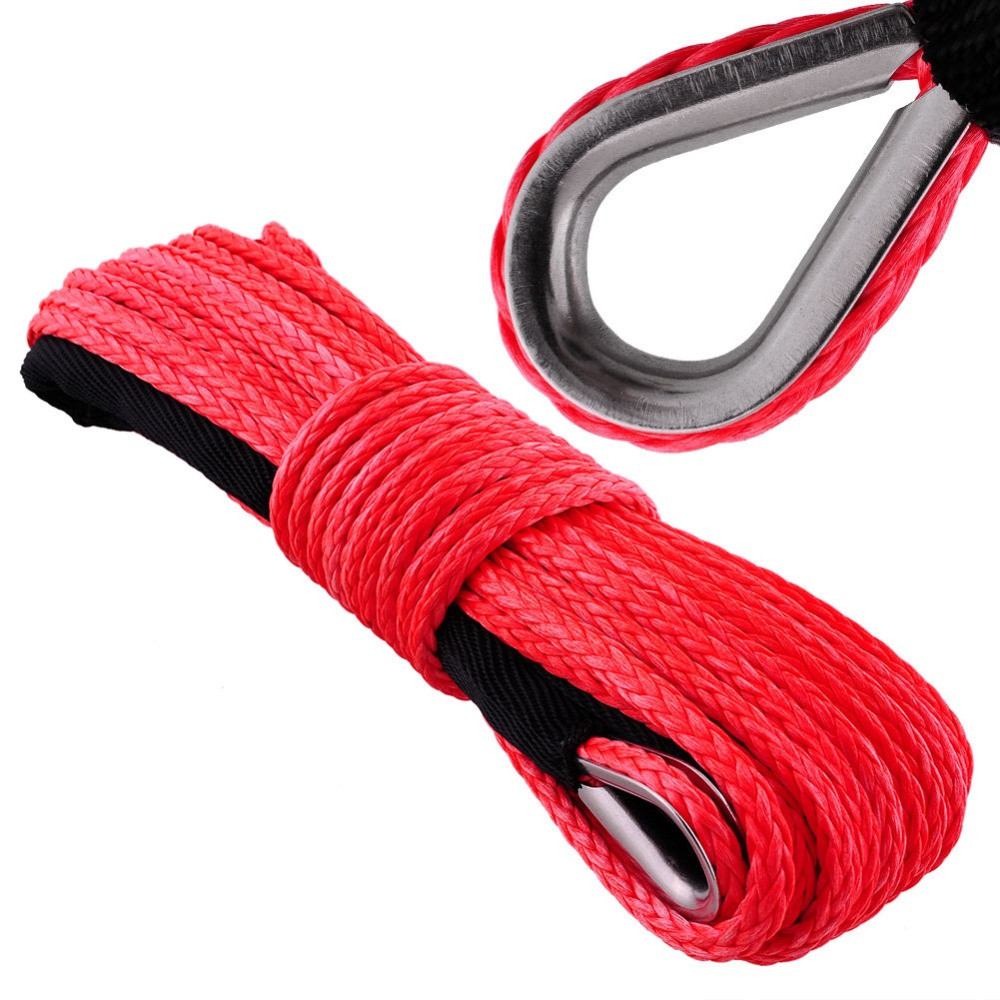 """5.5 Crochet Hook New 5 16"""" X 40m Hot Seller Red Uhmwpe Synthetic Winch Rope Of Innovative 44 Models 5.5 Crochet Hook"""